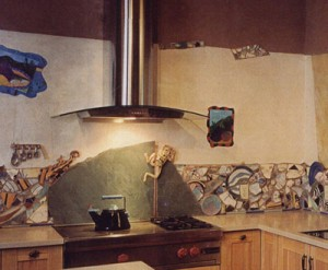 santa fe kitchen detail